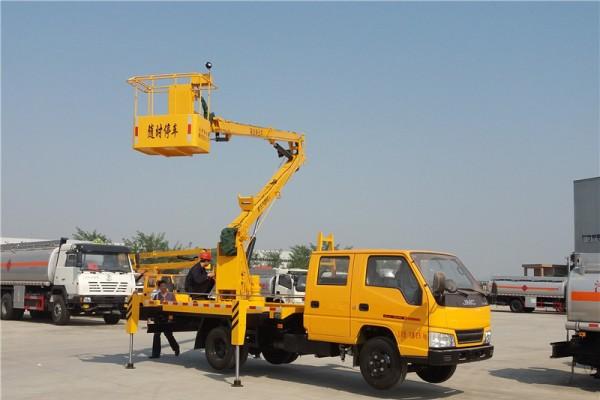 (12-16米)江铃双排·折叠臂高空车