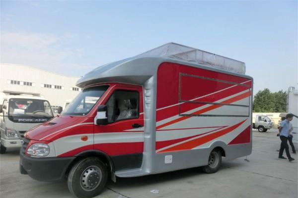 (厢长4.1米)依维柯 餐车