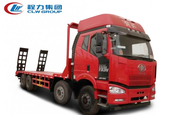 8X4前四后八【20-40吨】平板运输车