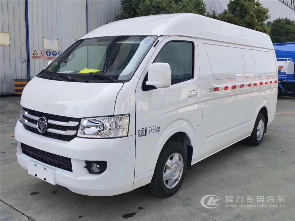 国六·福田风景G7 面包冷藏车