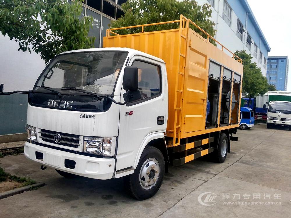 东风D6 污水处理车(蓝牌)