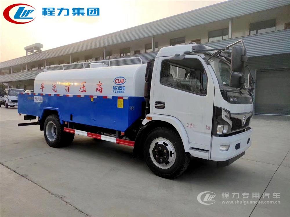 国六【8立方】东风D7管道清洗车