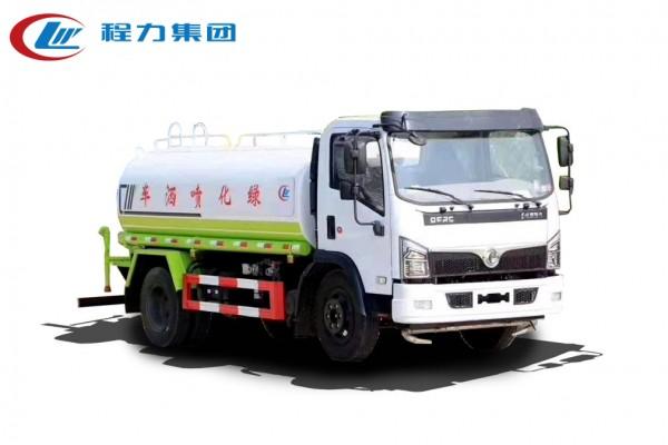 国六【9立方】东风D7 洒水车